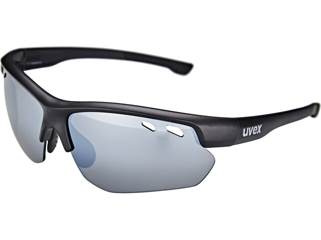 UVEX Sportstyle 115 Gafas deportivas, black mat/silver